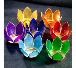 bougeoirs lotus 7 chakras a lyon