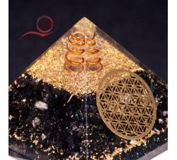 pyramide orgone en tourmaline a lyon