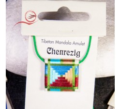 Talisman tibétain Chenrezig