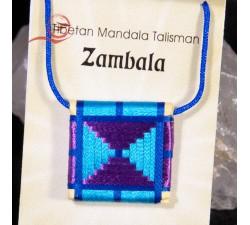 Talisman tibétain zambala