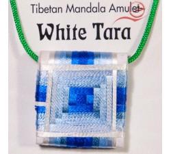 Talisman tibétain Tara Blanche