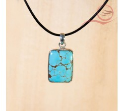 african turquoise pendant