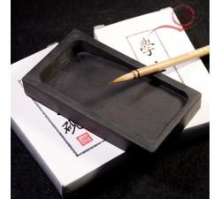 Pierre à encre rectangle pour la calligraphie chinoise et japonais a lyon