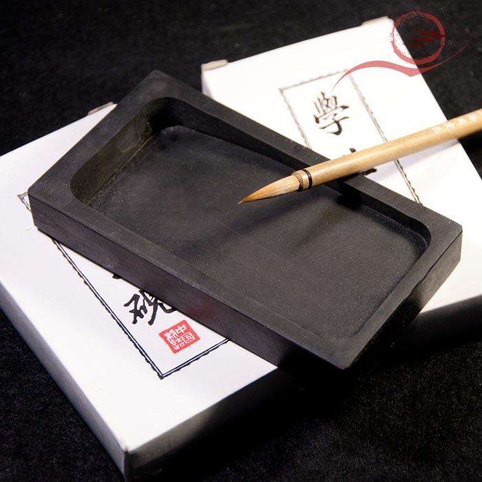Rectangle slate ink stone