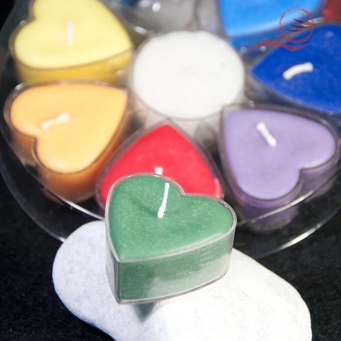 7 bougies coeurs