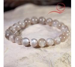 Moonstone black bracelet