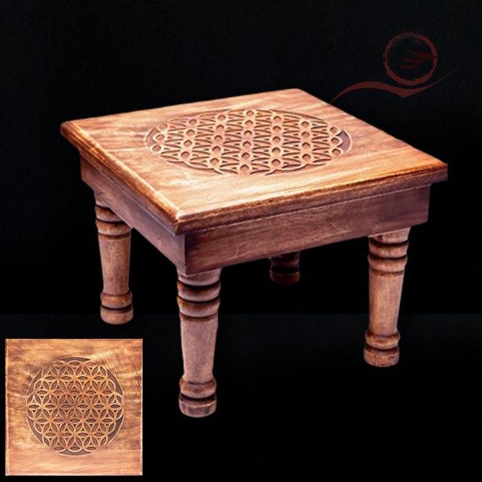 Petite table fleur de vie