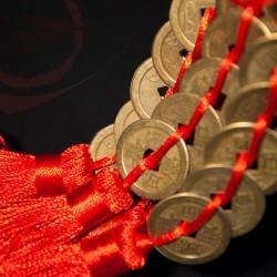 pièces porte bonheur chinois