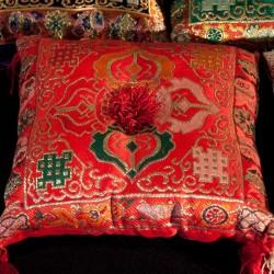Coussin pour bols tibetains 20x20cm