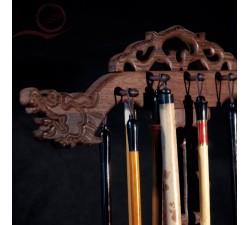 Repose pinceau calligraphie dragon