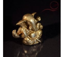 Ganesh resine blanche  11cm