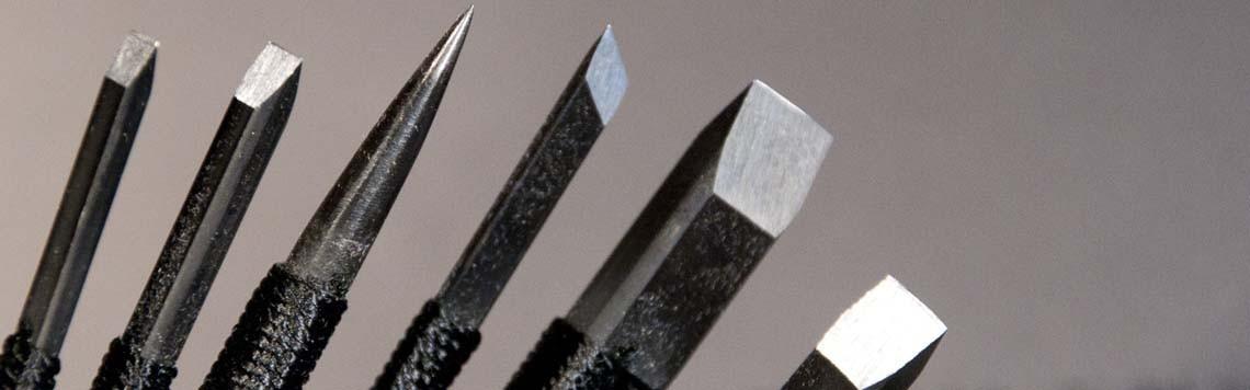 Couteaux à gravure
