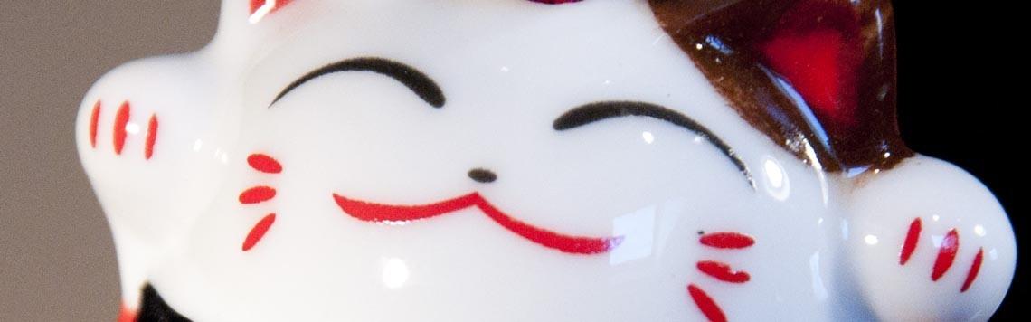 Gamme de chat Maneki Neko