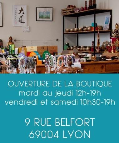 boutique ésoterique a lyon, calligraphie, yoga, meditation, bols tibetains, bijoux en pierre, bracelets en pierre naturelle